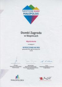 Dyplom Wyróżnienie